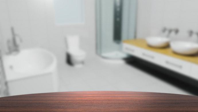 ניקיון של חדר האמבטיה